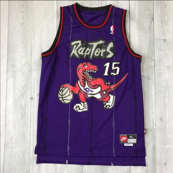 competitive price 9ca8d 042d0 Vintage 90's Nike Vince Carter Raptors Jersey XL